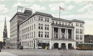 The Park Hotel in 1914